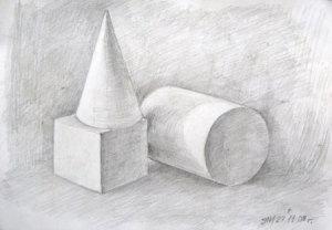 курсы рисования цылиндр