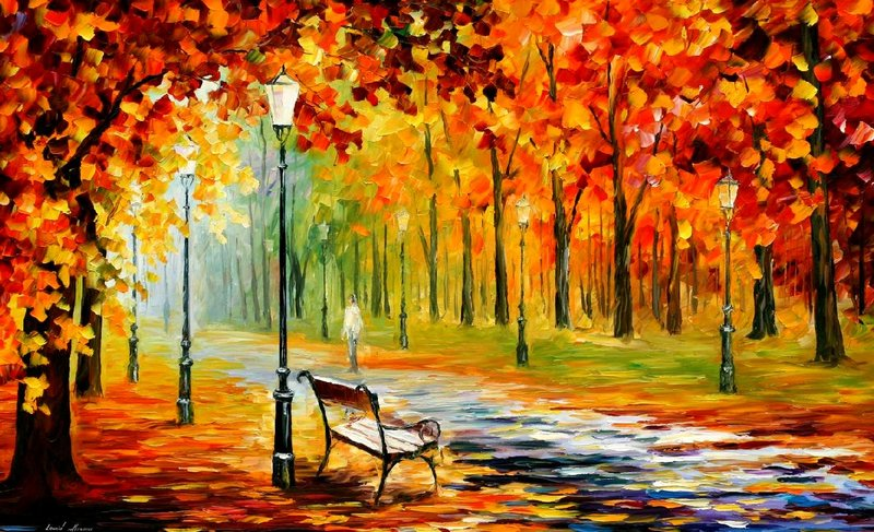 уроки живописи пейзажа и этюдов