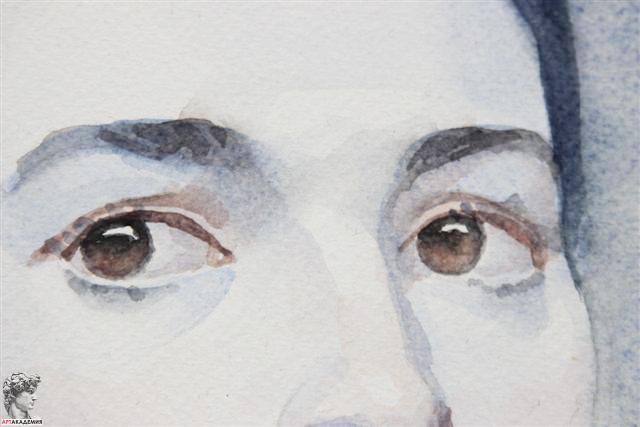 как рисовать человека акварелью:
