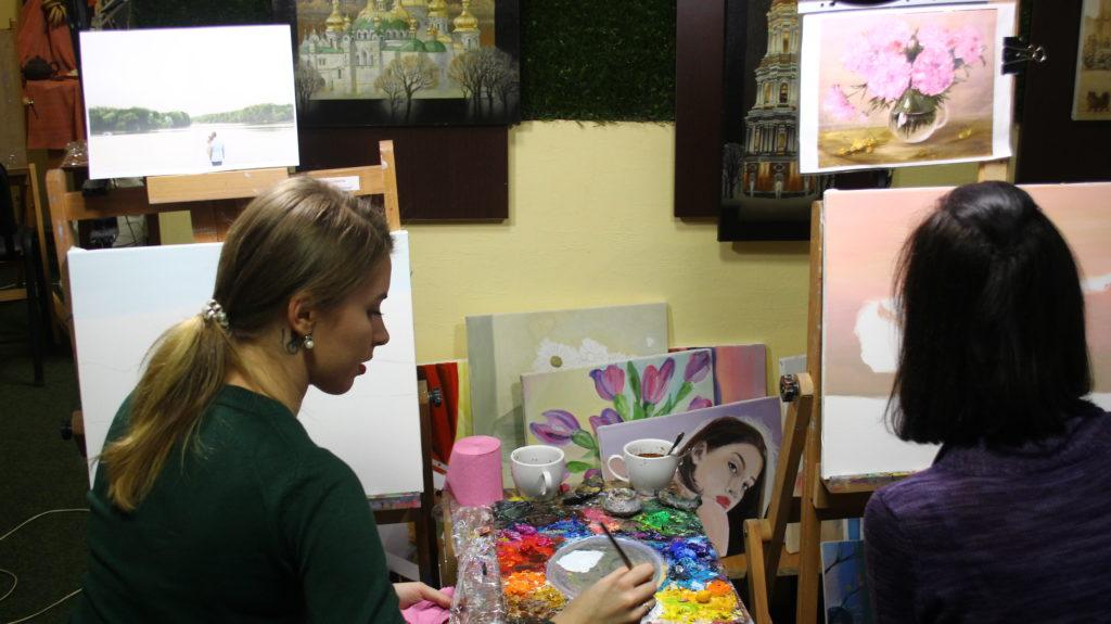 Мастер класс по живописи Киев