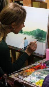 Мастер класс по рисованию Киев