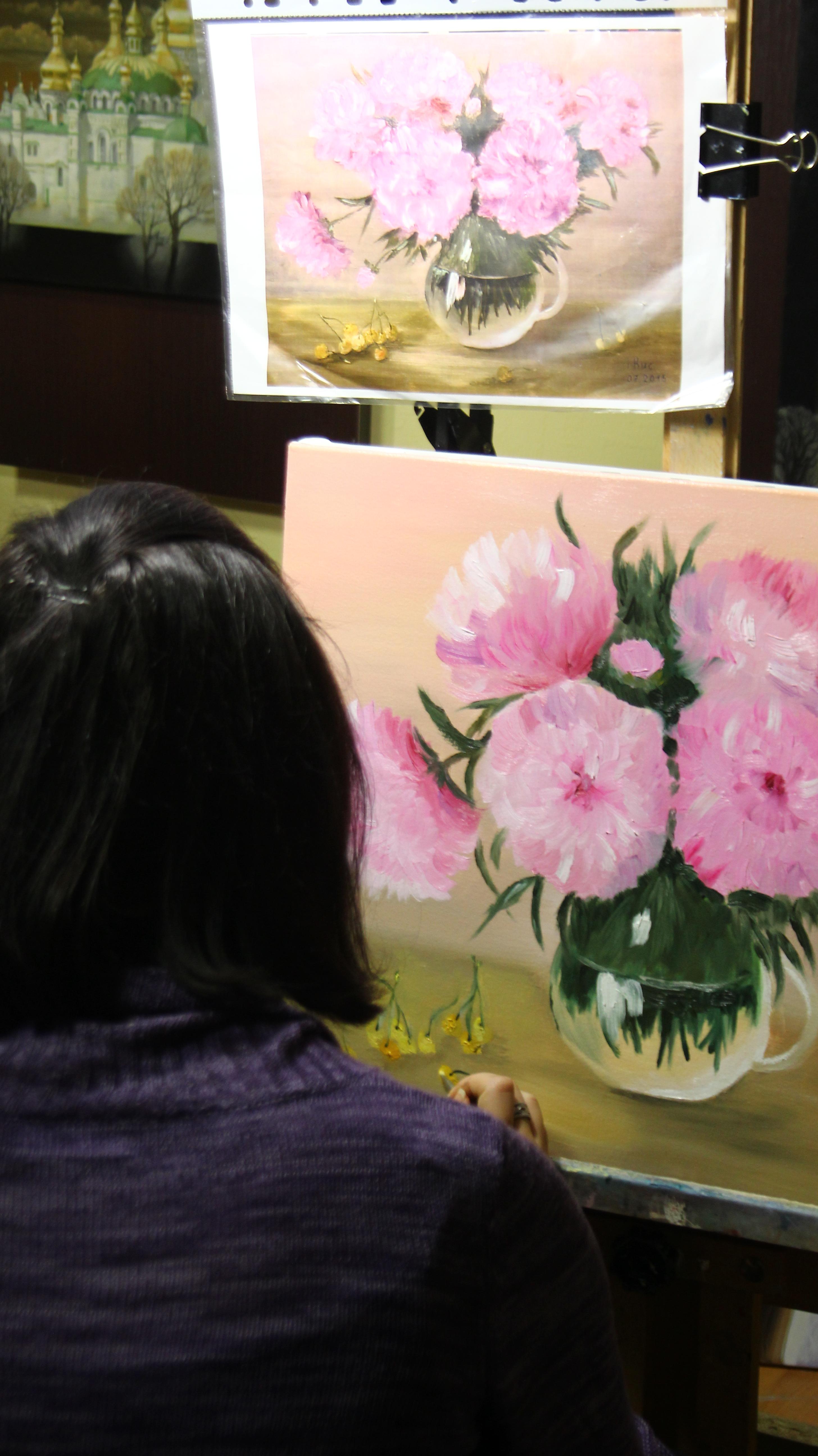 Мастер класс по рисованию в артакадемии
