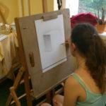 Как уроки рисования помогают киевлянам быть спокойными и счастливыми.