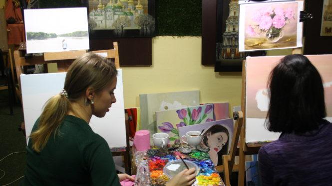 Мастер-класс по рисованию в Артакадемии