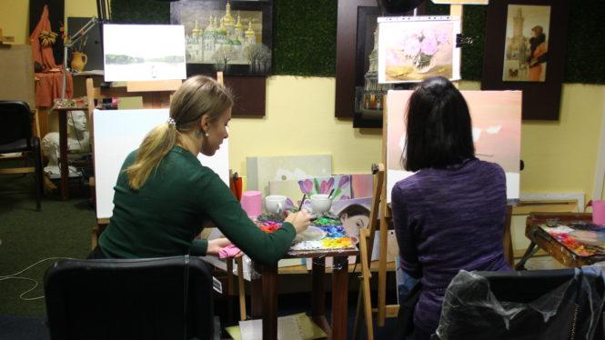 Мастер-класс по рисованию в Киеве