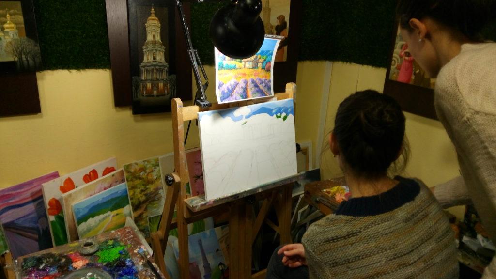 мастер-класс по рисованию киев как метод релаксации