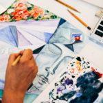 Техники живописи на курсах рисования акварелью