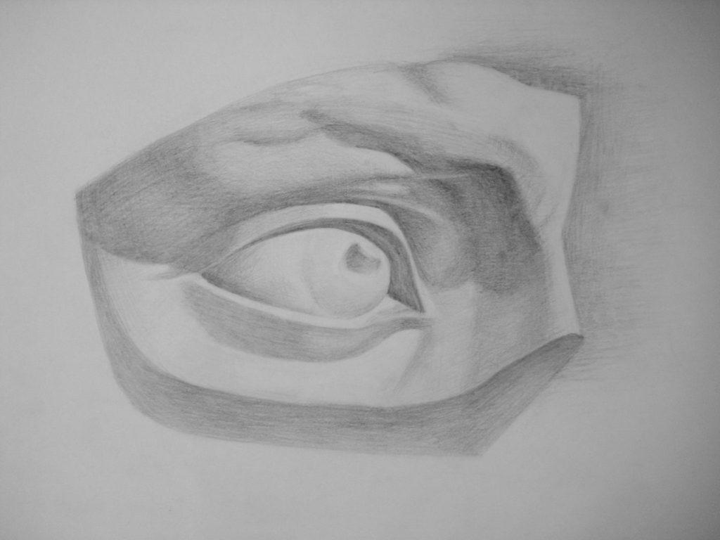 курсы-академичесого-рисунка-глаз-давида