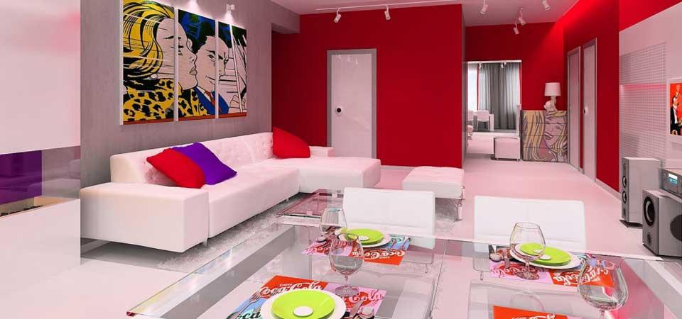 Блок2- пример обустройства гостинной - визуализация