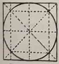 Академический рисунок круга