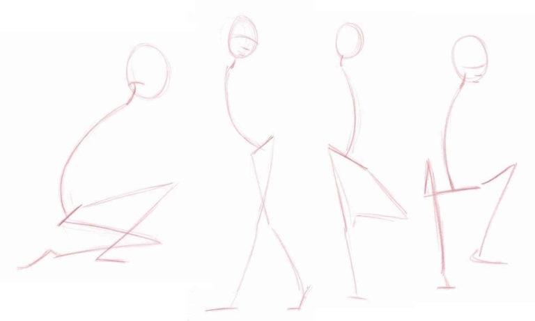 Рисунок но в линейной манере на занятиях по рисунку карандашом в Артакадемии