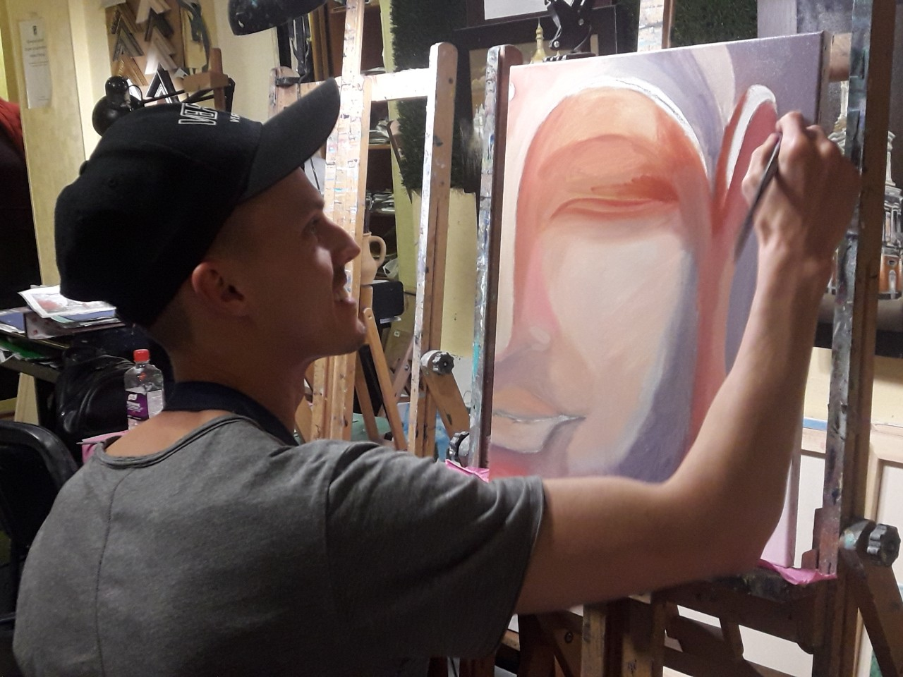 мастер класс по живописи в Артакадемии