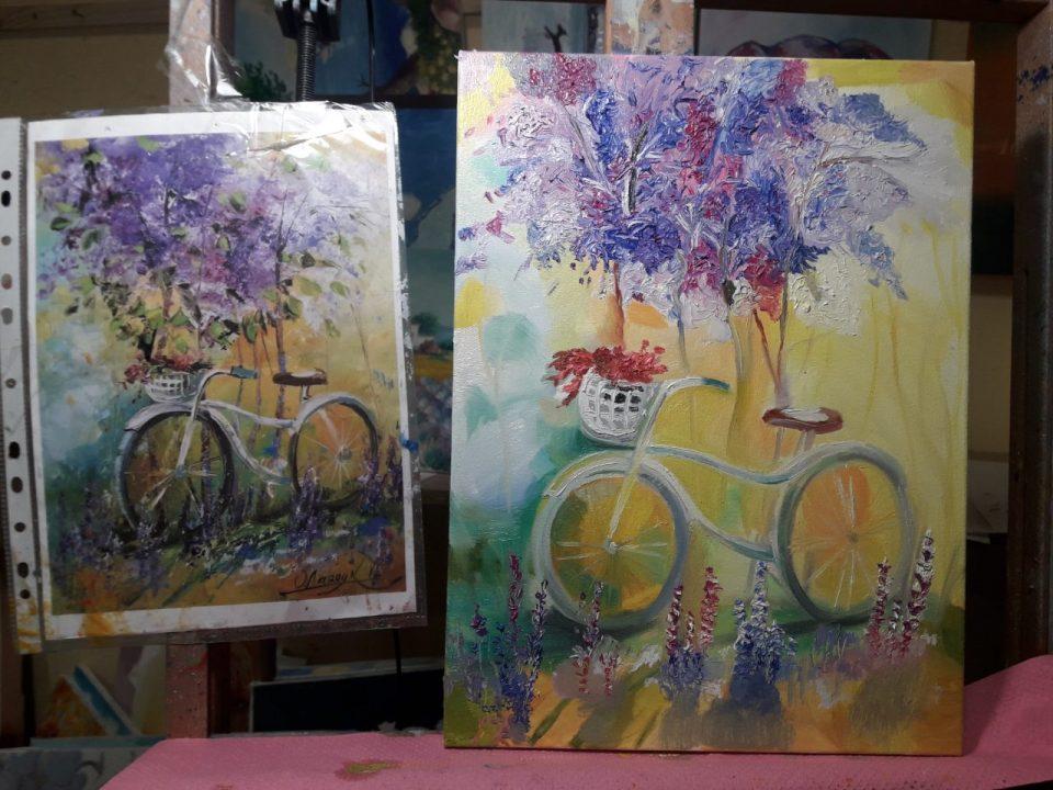 мастер класс по живописи для двоих