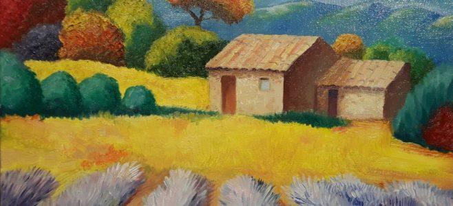 масляная живопись в виде мастер класса по рисованию