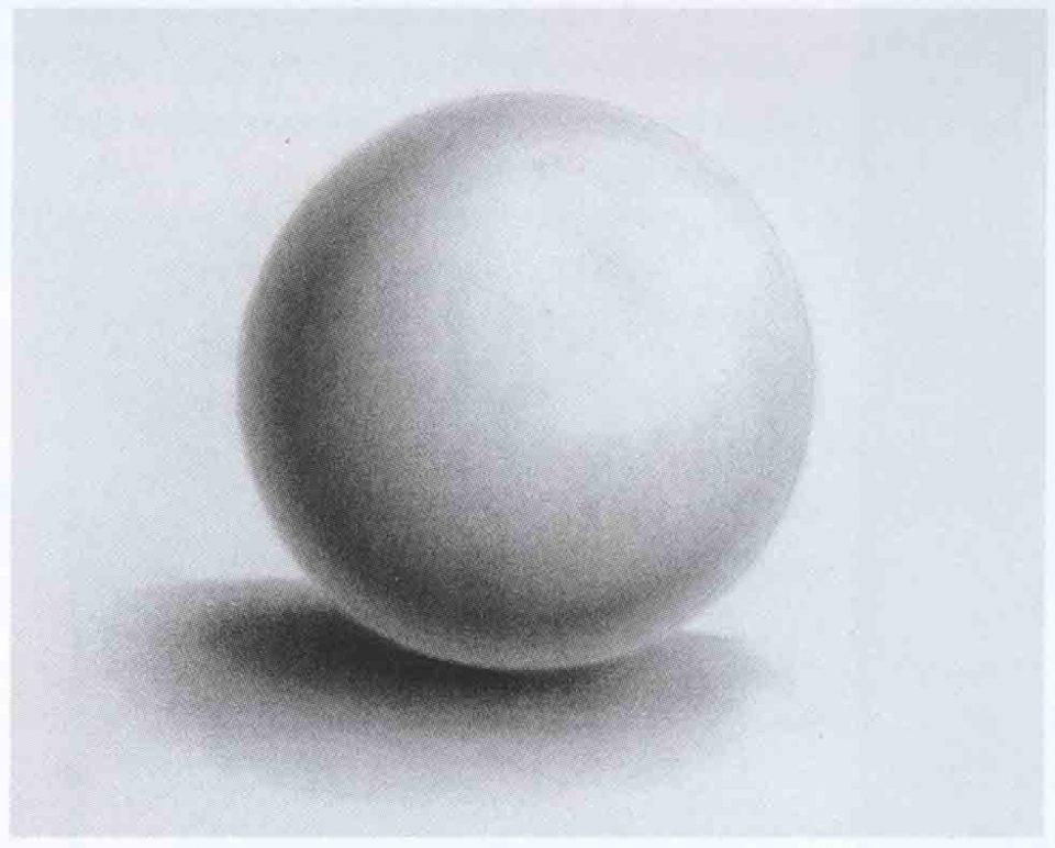 как рисовать шар карандашом