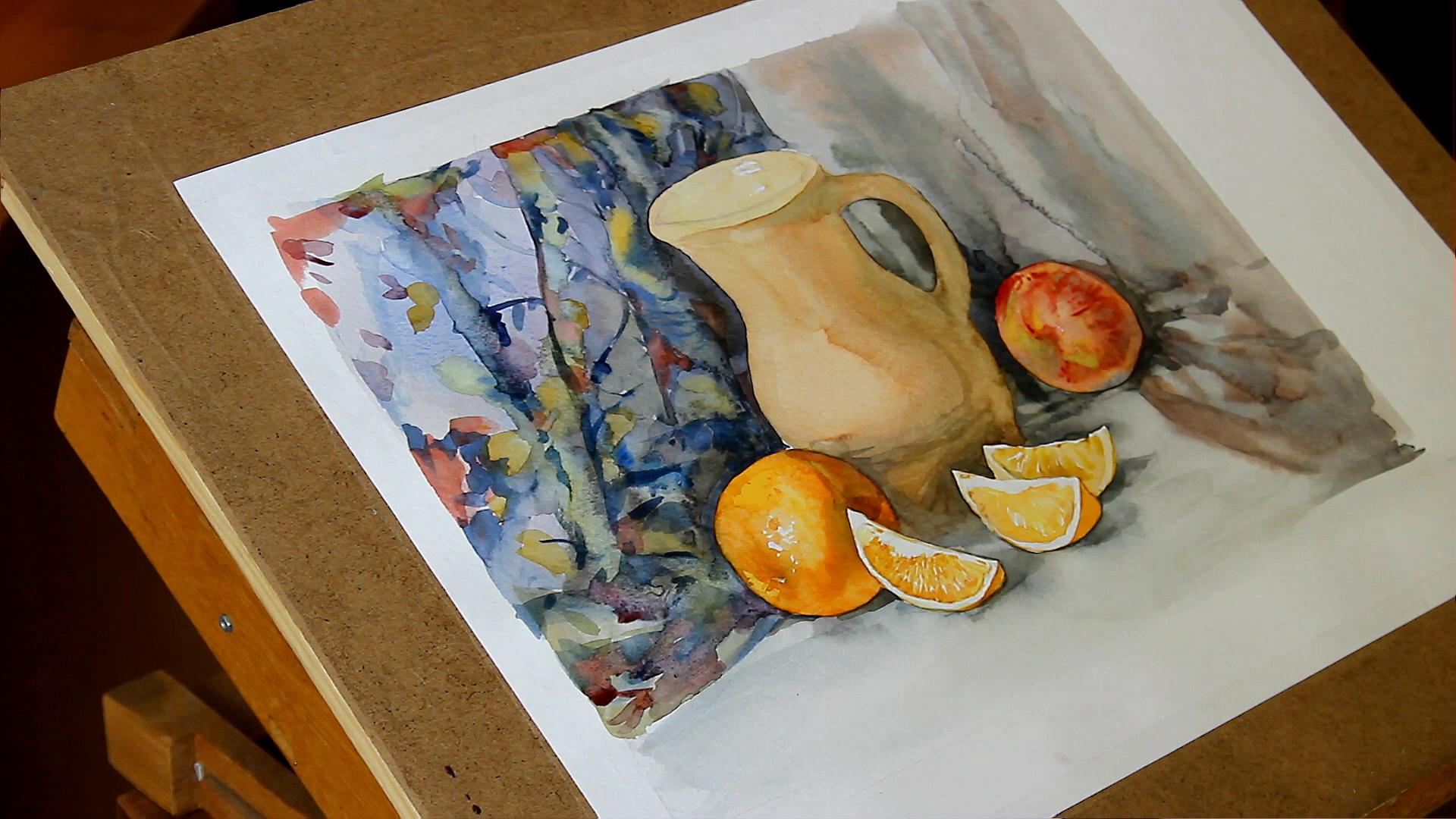 мастер класс по живописи акварелью