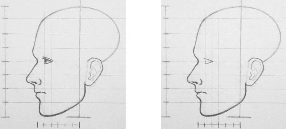 академический рисунок головы человека карандашом Артакадемия