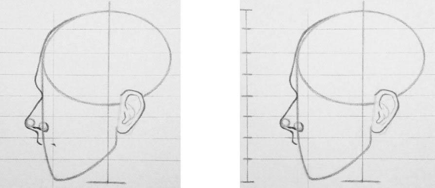 академический рисунок головы человека Артакадемия