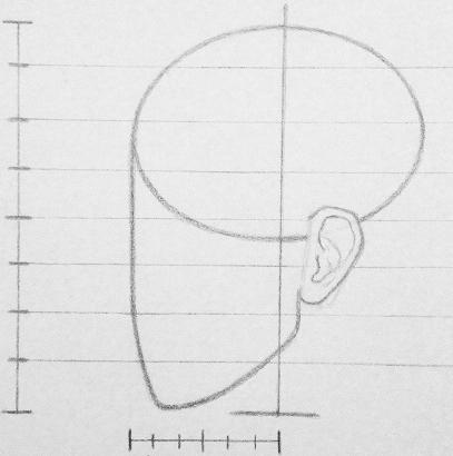 как рисовать голову человека Артакадемия