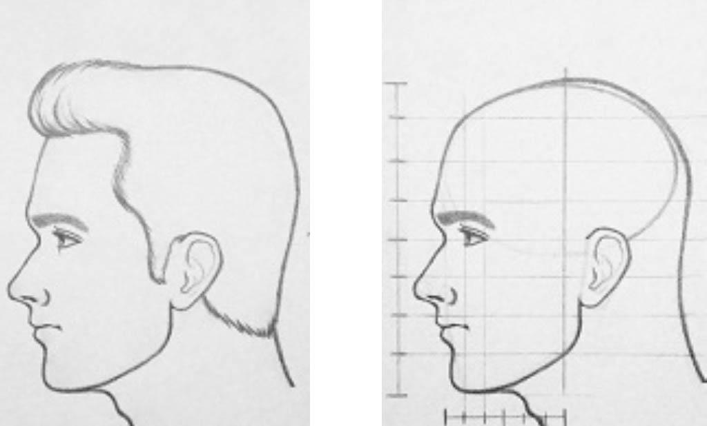 как нарисовать голову академический рисунок с Артакадемией