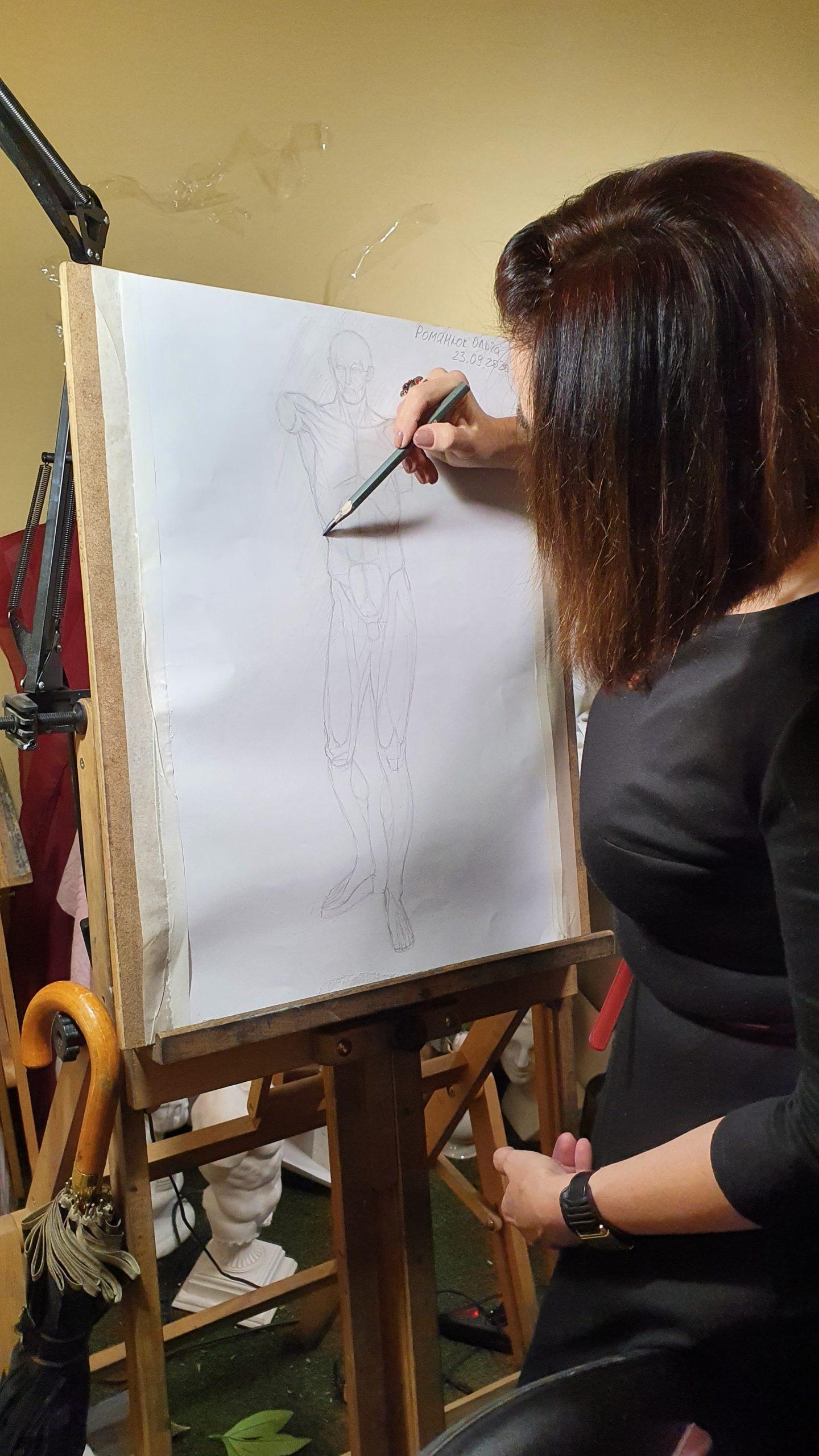курсы академического рисунка