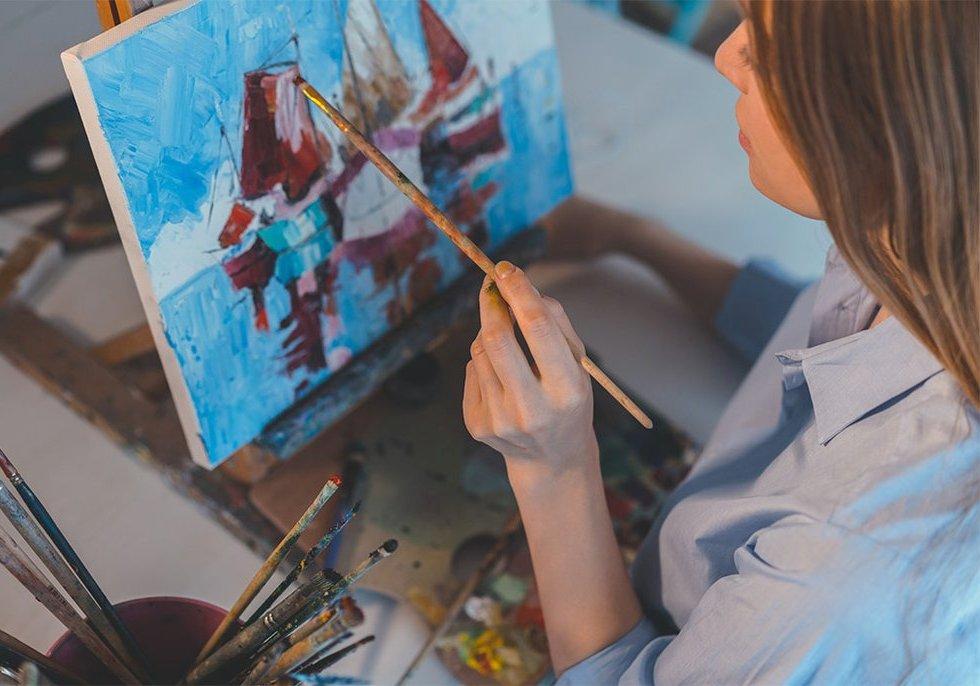 мастер класс по живописи Артакадемия