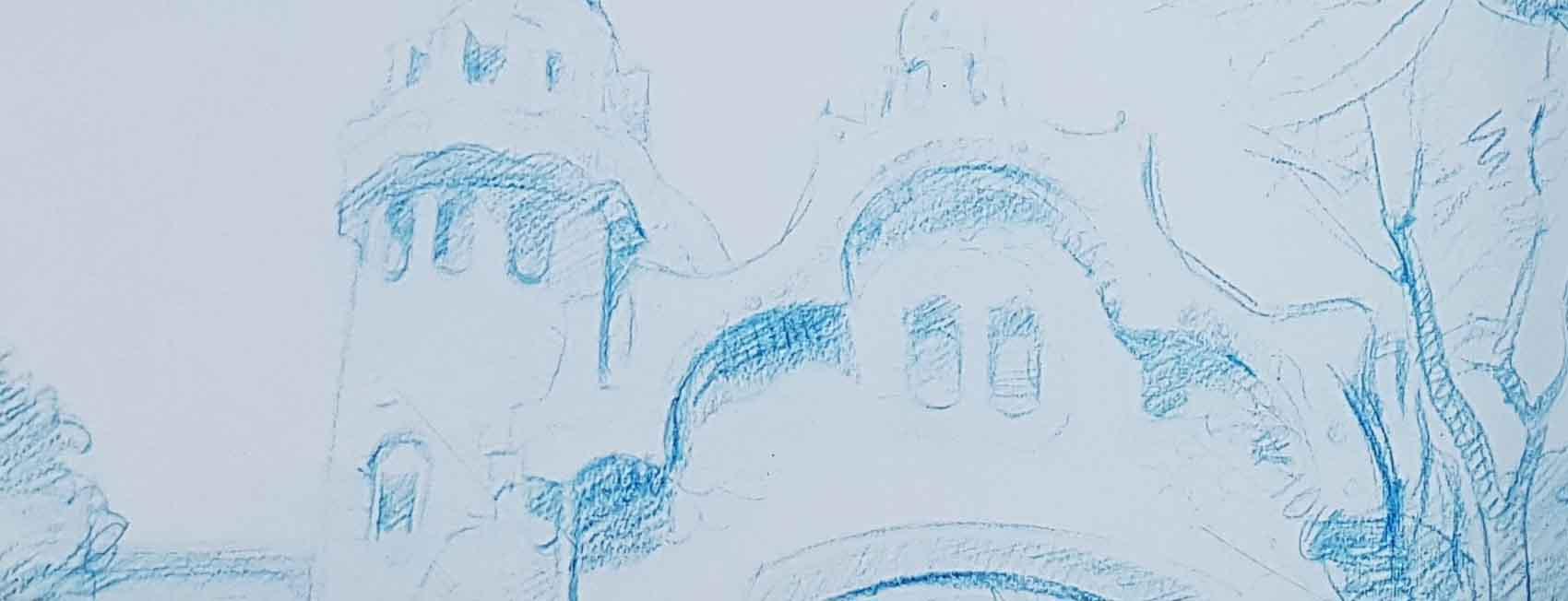 уроки академического рисунка цветным карандашом Киев Артакадемия
