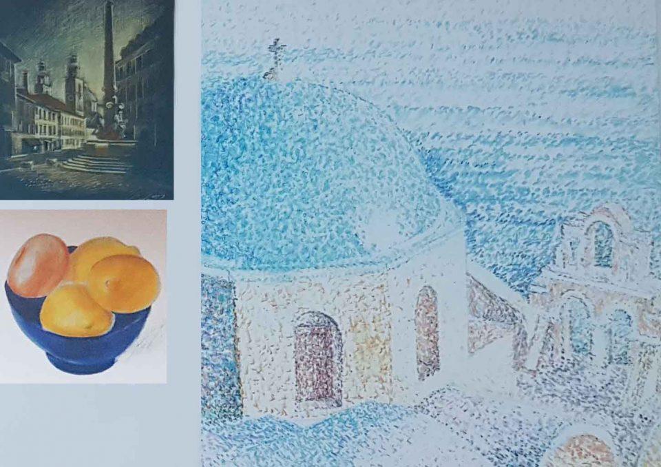 Курсы академического рисунка цветным карандашом Артакадемия