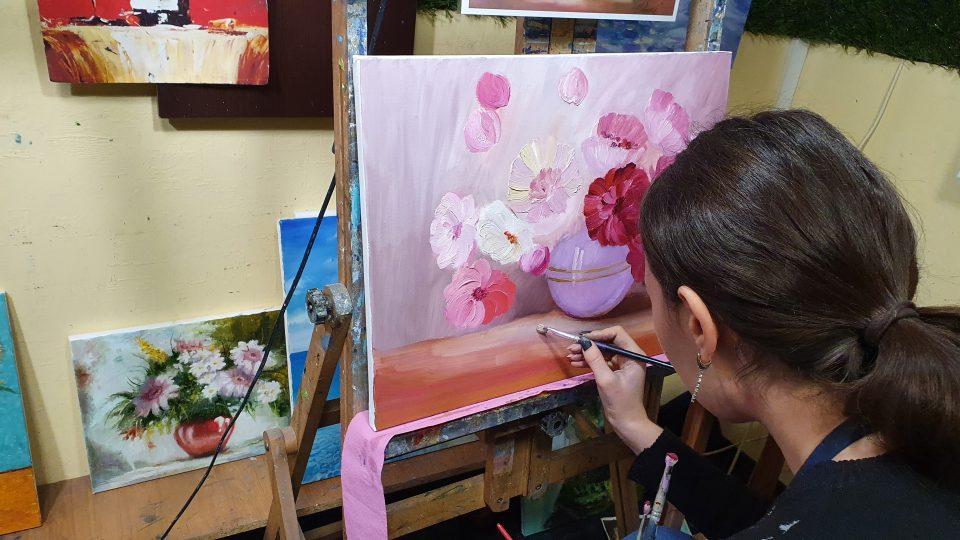 Мастер класс по живописи в Киеве