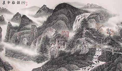 мастер класс по китайской живописи