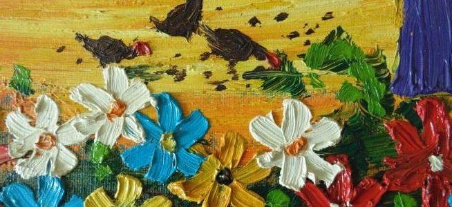 рельефная живопись мастер класс