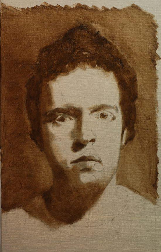 мастер класс по живописи портрета маслом