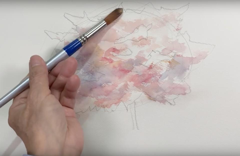 мастер класс японская живопись
