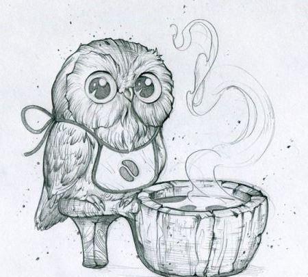 Как нарисовать сову ребенку