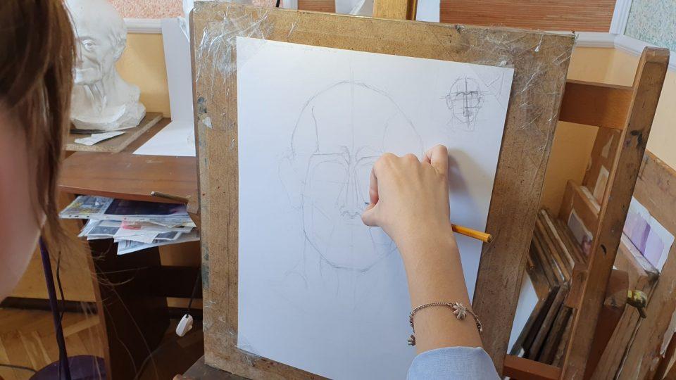 Курсы рисунка для абитуриентов